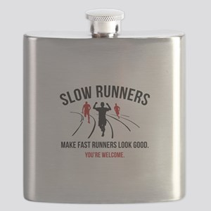 Slow Runners Flask